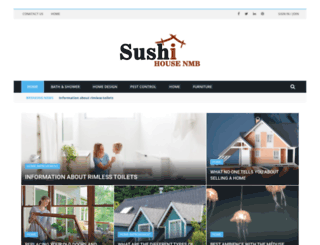 sushihousenmb.com screenshot
