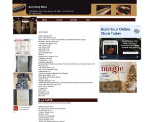 sushiking.menutoeat.com screenshot