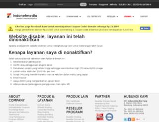 suspend.indonetmedia.com screenshot