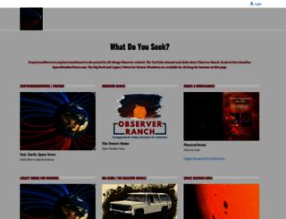 suspicious0bservers.org screenshot