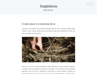 suspirancia.wordpress.com screenshot