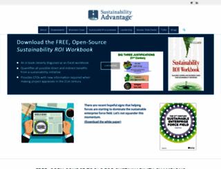 sustainabilityadvantage.com screenshot