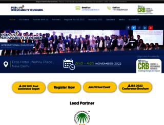sustainabilitystandards.in screenshot
