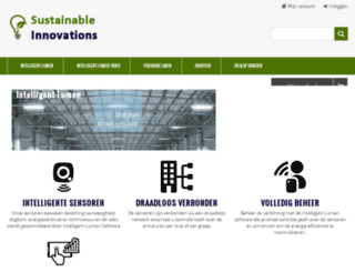sustainable-innovations.nl screenshot
