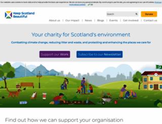 sustainable-scotland.net screenshot