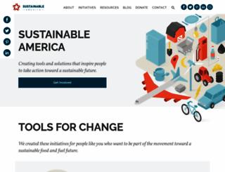 sustainableamerica.org screenshot
