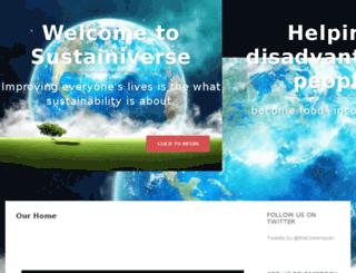 sustainiverse.org screenshot