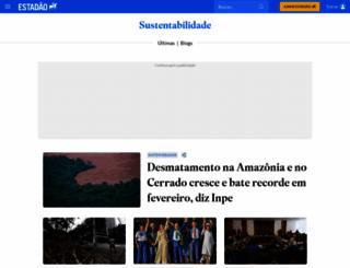 sustentabilidade.estadao.com.br screenshot
