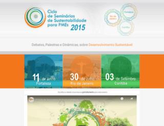 sustentabilidadepme.com.br screenshot