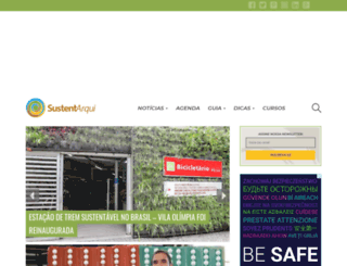 sustentarqui.com.br screenshot