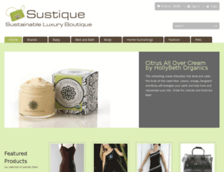 sustique.com screenshot