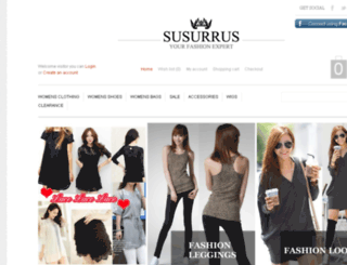 susurrus.co.nz screenshot