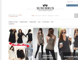susurrus.co.nz screenshot