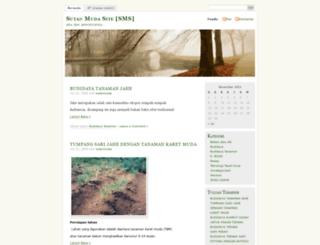 sutanmuda.wordpress.com screenshot