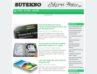sutekno.info screenshot