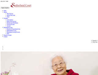 sutherlandcourt.com.au screenshot