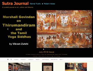 sutrajournal.com screenshot