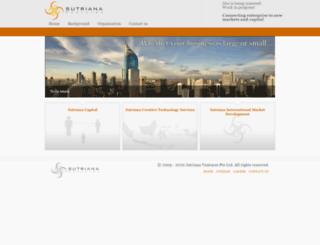 sutriana.com screenshot
