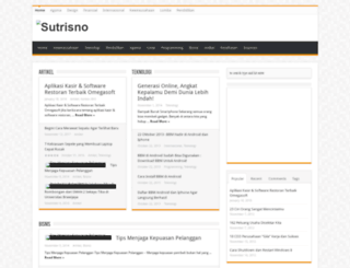 sutrisno.info screenshot