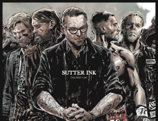 sutterink.com screenshot