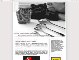 sutumesarellemekarisma.blogspot.com screenshot