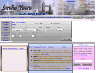suvha-yatra.com screenshot