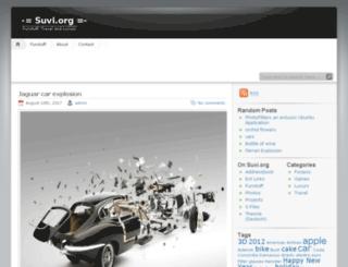 suvi.org screenshot