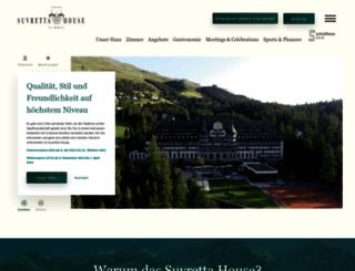 suvrettahouse.ch screenshot