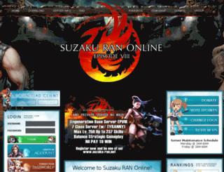 suzaku-ran.net screenshot