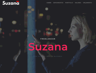 suzanadeoliveira.com screenshot