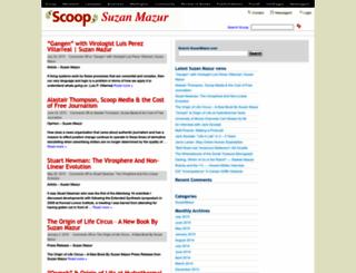 suzanmazur.com screenshot