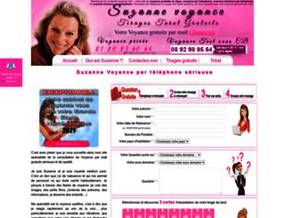 suzanne-voyance.com screenshot