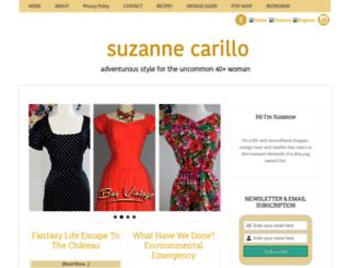 suzannecarillo.com screenshot
