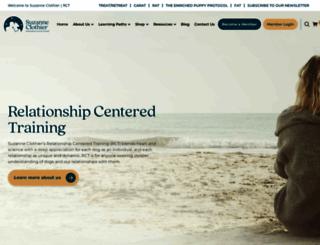 suzanneclothier.com screenshot