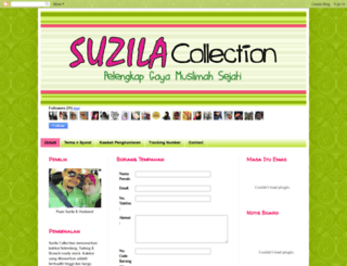 suzilacollection.blogspot.com screenshot