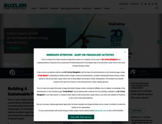 suzlon.com screenshot