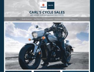 suzuki.carlscycle.com screenshot