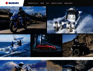 suzuki.com screenshot