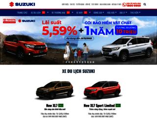 suzuki.com.vn screenshot