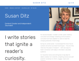 suzwrites.com screenshot