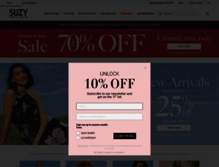 suzyshier.com screenshot