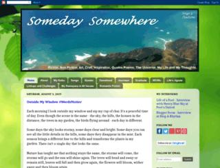 suzysomedaysomewhere.blogspot.com screenshot