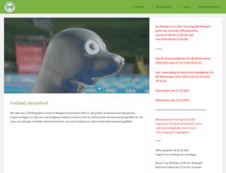 sv-neuenhof.de screenshot