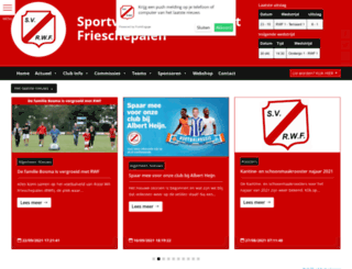 sv-rwf.nl screenshot