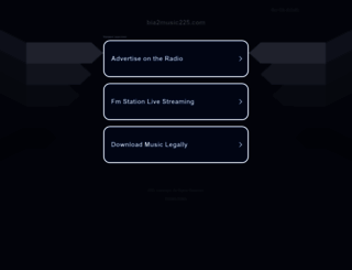 sv.bia2music225.com screenshot
