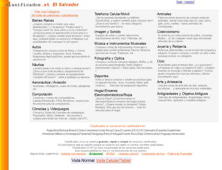 sv.clasificados.st screenshot