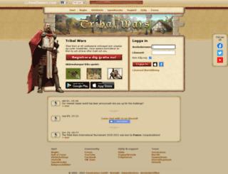 sv1.tribalwars.se screenshot