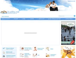 svadiba.md screenshot