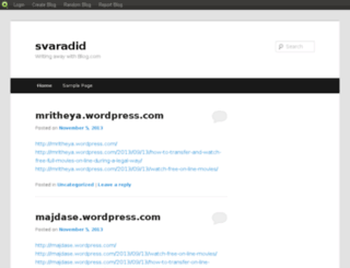svaradid.blog.com screenshot