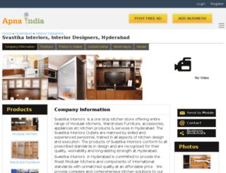 svastikinterior-hyderabad.apnaindia.com screenshot